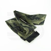 Wholesale New Paintball Airsoft PCP Airguns Remote Coil Hose Line Woodland Camo Cover