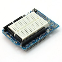 arduino prototyping shield - New Hot Electronic Components Prototyping Prototype Shield ProtoShield With Mini Breadboard fr Arduino VE101 W0
