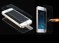 Wholesale Premium Real Tempered Glass Film Screen Protector for Galaxy S5 Note note4 iPhone Plus inch iPhone S C S LG G3 G2 MOTO G E