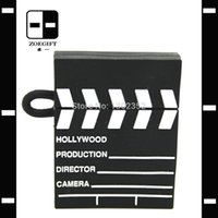 Wholesale Movie Clapper Board Cheap USB Pen Drive True Memory Card Personalized Gifts Drop Shipping