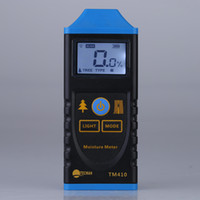 Wholesale Professional LCD Backlight Display Digital Wood Moisture Meter Test Probe Humidity Tester Wood Moisture Analyzers