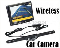 Wholesale quot Wireless LCD Car Monitor Car Rear View Camera Security Parking Reversing Camera System