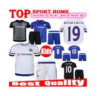 Unisex chelsea - Kids Chelsea home away jersey Children HAZARD DIEGO COSTA Sports Kits Red youth soccer jersey Custom name