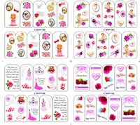 baby beauty tips - 1pcs Beauty Charm Nail Art Flower Child Baby Designs of Nail Art Water Transfer Stickers Decals Salon Nail Art Tips BOP152