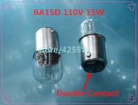 Wholesale piece BA15D W V bulb Double Contact light bulb ba15d v w Double Contact