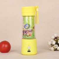 Wholesale 10PCS LJJL10 Electric Juice Cup Mini Portable fruit vegetable Blender with USB charger Carry cup Gifts water bottl