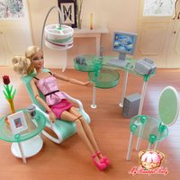 doll furniture - 2015 New summer Computer room for barbie doll fashion doll Furniture