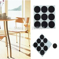 Wholesale 9Pcs set Furniture Table Chair Leg Floor Feet Cap Cover Protectors Anti Scratch Protectors Pad Skid Slip Self Adhesive cm