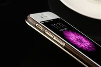 alu bag - obile Phone Accessories Parts Mobile Phone Bags Cases Hybrid CD Spiral pattern Aluminum Plastic Hard case for iPhone inch Luxury Alu