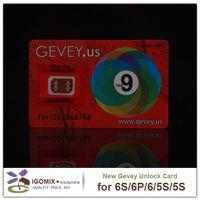Wholesale New arrivel GEVEY sim card unlock all iphone ios for s plus s Genuine Gevey us