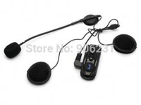 Wholesale BT S1 m Interphone Bluetooth Motorcycle Motorbike Helmet Intercom Headset FM