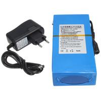 Wholesale Price DC V mAh Li ion Super Rechargeable Battery Pack AC Charger W EU Plug