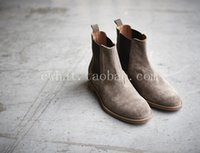 designer shoes - Top quality color euro BV slp designer men shoes luxury brand Chelsea mens boots yeezy kanye west