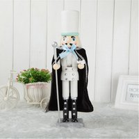 antique wood doll - Deal New wood craft nutcracker cm christmas gift manual European home decoration doll