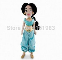 aladdin figures - Princess Exclusive cm Deluxe Plush Figure Jasmine Plush Toys Aladdin Movie Plush