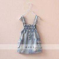 Cheap denim dress Best pockets dress