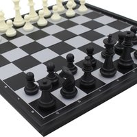 board game pieces - Large Size International checkers chess set board game ajedrez pieces magnetic chess game toys years for children adults