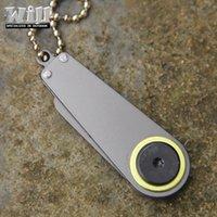 Wholesale Camping Hiking Travel Kits EDC Camping Hunting Folding Knife Handle EDC Knives Keychain Gift