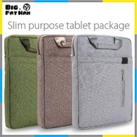 Wholesale Portable Bag inch Notebook Laptop Bag Shoulder Handbag Bag laptop bag pad laptop sleeve For Macbook iPad tablet inch bag