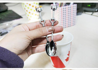 Wholesale A Pair Of Heart Coffee Spoon Wedding Gifts Kitchen Coffee Spoon Gifts