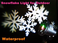 Wholesale new Waterproof Garden Laser sky star projector lighting for outside Snowflake light for Outdoor