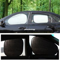 Wholesale 6pcs set High Quality Folding Silvering Car Window Sunshade New UV Reflective Insulation Protect Car Sunshade Cover Shield