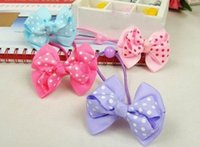 girls ponytail holders - 80pcs Baby girl Kids Hair accessaries Rainbow Hair bands Elastic Ties Ponytail Holder Ponies