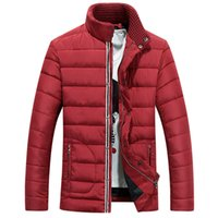 Wholesale Fall the New Winter Jacket Men Casual Cotton Thick Mens Winter Jacket Wellensteyn Men s Clothing