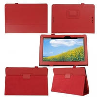 asus transformer cover - HOT SALE Flip Litchi Grain Line PU Leather Stand Back Cover Case For Asus Transformer Book T100TA
