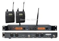Wholesale In Ear Monitor Wireless System Twin transmitter Monitoring Professional for Stage Performance