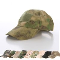 military hats - Hiking male hat Summer camping man s Camouflage Tactical hat military hats army Fishing bionic Baseball cadet Military cap