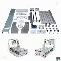 Wholesale Russia only no tax mini CNC router frame T with trapezoidal screw DIY CNC engraver milling machine