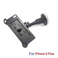 Wholesale 50pcs in Car Swivel Mount Holder Dock bracket Set for inch Apple iPhone Plus with foot rest By Fedex
