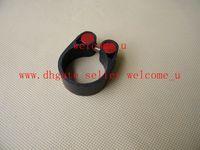 Wholesale 2015 New matt Carbon Fiber Bicycle Seat Post clamp mtb Bike Seatposts clamp mtb Bike Seat tube clamp