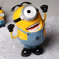 character resins - Despicable Me Action Figures CM Resin Cartoon Minion Figure Characters Dolls For Kids Birthday Gifts DM10065
