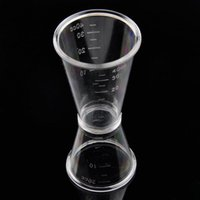 Wholesale 1 pc cc Double End Measuring Cup Bar Cocktail Tools Portable Beaker With Scales Milk Beer Ounce Cups Jigger Kits