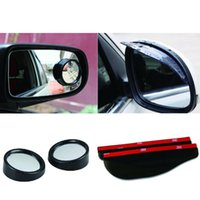 Wholesale Hot in1 Car Blind Spot Mirror Rear View Mirror Degree Rotatable Convex Wide Angle View Rearview Auxiliary Mirrors JAA00013