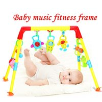 baby exercise equipment - Baby Music Fitness Frame Baby Toys Baby Educational Early Childhood Toys Exercise Equipment Gift