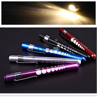 Wholesale Diagnostic Medical Aid Pen Light Penlight Flashlight Pocket Torch With Scale Hot Sale