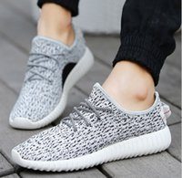 canvas shoes - Mens Shoes Kanye West Yeezy Boost Athletic Boots Ankle Boots Low cut Shoes Sports Boot Sneakers