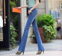 high waist jeans plus size - Women Jeans Skinny Speaker Washed Jeans Womans Wide Leg Pants Trousers High Waist Jeans Robin Jeans For Women Boyfriend Jeans Plus Size