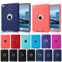 tyres china - For iPad mini Retina Kids Safe Tyre Texture Outdoors Case Shockproof Heavy Duty Rubber Hard Cover