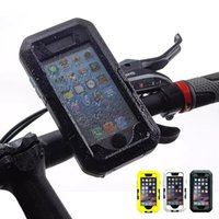 bike cover - For iPhone i6 Plus Galaxy S6 Waterproof Water Proof Bike Mount Bicycle Armband Hard Case Cover Underwater for iPhone6 Plus Samsung G9200
