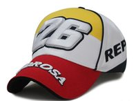 Wholesale 2014 D MOTO GP motorcycle riders Pedrosa outdoor sports baseball cap hat F1 car racing cap trucker cap