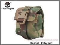 airsoft grenades - Emerson LBT Style Single Frag Grenade Pouch Molle military airsoft painball combat gear EM6369 Leisure Bags