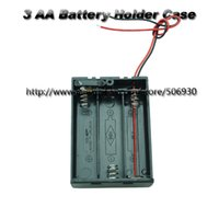 battery holder aa switch - 20 New AA A Battery V Holder Box Case with ON OFF Switch Black