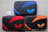 Wholesale Butterfly tbc table tennis ball bag sports bag Table Tennis Racket CASE Color