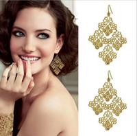 Wholesale Chantilly Lace Chandelier Earrings christmas earrings