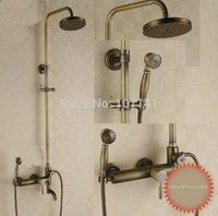 shower mixer tap - European New Design Brass Bath Shower Mixer Tap Antique Brass Shower Bath Taps