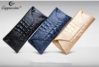 Wholesale Purses Bags Hot Casual Designer Handbags Leather with Crocodile Design Women Wallet Great for Storing Leather Handbags W008